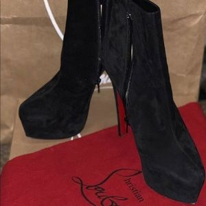 Authentic Christian Louboutin ankle boots